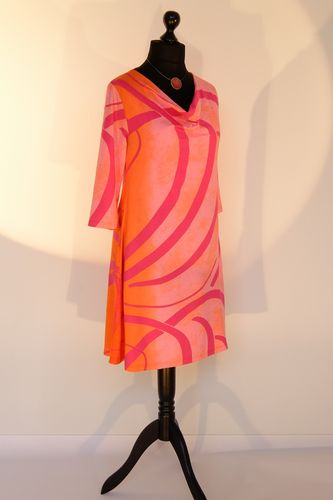 "Kleid ""gradiente"" in rose/orange"